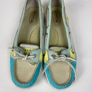 SPERRY TOP SIDER ANGELFISH MESH BOAT SHOE SIZE 6.5